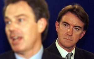 "Peter ""I love you, but I can destroy you"" Mandelson"